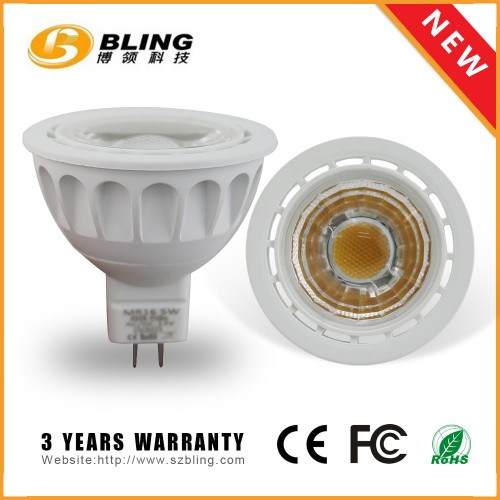 MR16 5W COB Dimmable Spotlight