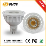 5W MR16 Dimmable LED Spotlight Lens Type