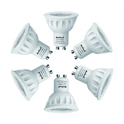 UL approval LED spotlight GU10 MR16 GU5.3 led 5W 6.5W spotlight bulb dimmable or non dimmable option